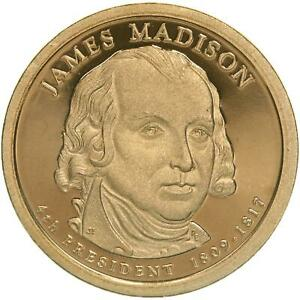 2007 S PRESIDENTIAL DOLLAR JAMES MADISON GEM DEEP CAMEO PROOF