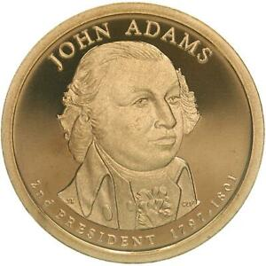 2007 S PRESIDENTIAL DOLLAR JOHN ADAMS GEM DEEP CAMEO PROOF