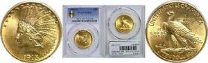 1913 S $10 GOLD COIN PCGS MS 64