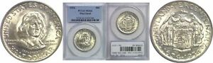 1934 MARYLAND SILVER COMMEMORATIVE PCGS MS 66