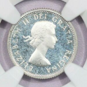 Click now to see the BUY IT NOW Price! 1958 CANADA 10C NGC PL66 CAMEO