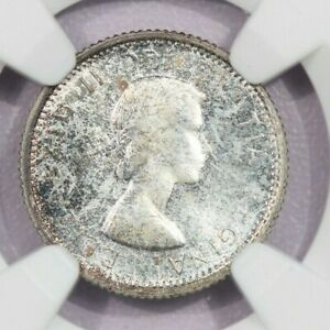 1958 CANADA 10C NGC MS65 BEAUTIFUL COLOR