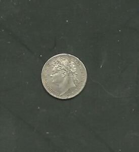 GREAT BRITAIN  MAUNDY 1 PENMY 1829   GEORGE IV
