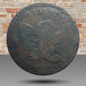 HALF CENT/PENNY 1797 INCREDIBLE TRIPLE STRUCK OBVERSE DOUBLE STRUCK REVERSE WOW