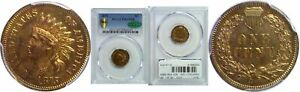 Click now to see the BUY IT NOW Price! 1875 INDIAN HEAD CENT PCGS PR 65 RB CAC