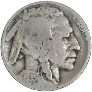 1935 D BUFFALO NICKEL GOOD VG