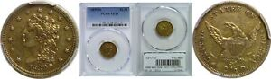 1839 D $2.50 GOLD COIN PCGS VF 35