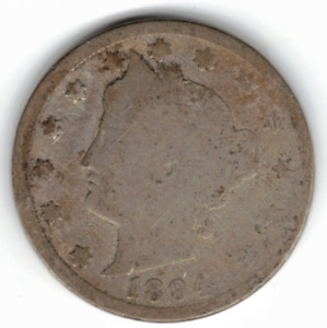 1894 LIBERTY NICKEL IN GOOD  CONDITION   PLEASE SEE THE SCAN      STK N11