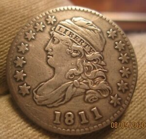 1811/09 CAPPED BUST DIME