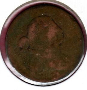 1801 DRAPED BUST LARGE CENT PARTAIL DATE READ PLEASE  C2234