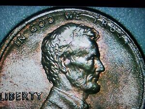 1989 LINCOLN PENNY OFF CENTER STRIKE
