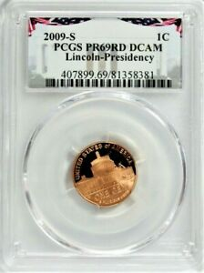 2009 S LINCOLN CENT PCGS PROOF 69 DEEP CAMEO