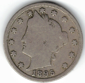 1895 LIBERTY NICKEL IN GOOD  CONDITION   PLEASE SEE THE SCAN      STK 6754