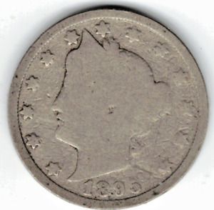 1895 LIBERTY NICKEL IN GOOD  CONDITION   PLEASE SEE THE SCAN      STK 6761