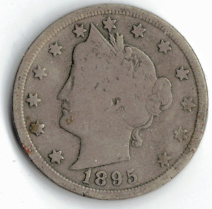 1895 LIBERTY NICKEL IN GOOD  CONDITION   PLEASE SEE THE SCAN      STK 5766