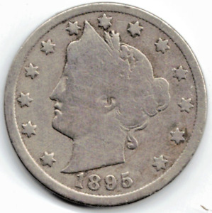 1895 LIBERTY NICKEL IN GOOD  CONDITION   PLEASE SEE THE SCAN      STK 5763