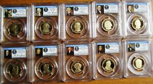 Click now to see the BUY IT NOW Price! 2007   2016 S PRESIDENTIAL $ PCGS PR70 DCAM ALL 39 LIMITED EDITION SIGNATURE