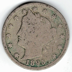 1895 LIBERTY NICKEL IN GOOD  CONDITION   PLEASE SEE THE SCAN      STK 5762