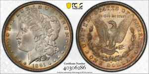 Click now to see the BUY IT NOW Price! 1891 O $1 MORGAN DOLLAR PCGS MS 65 UNCIRCULATED MINT STATE ORIGINAL TONED BEA