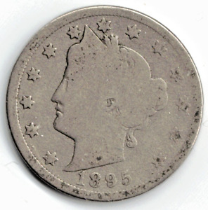 1895 LIBERTY NICKEL IN GOOD  CONDITION   PLEASE SEE THE SCAN      STK 5770