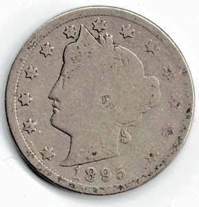 1895 LIBERTY NICKEL IN GOOD  CONDITION   PLEASE SEE THE SCAN      STK 5769