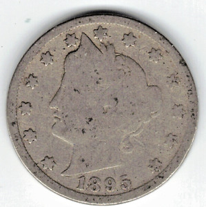 1895 LIBERTY NICKEL IN GOOD  CONDITION   PLEASE SEE THE SCAN      STK 5768