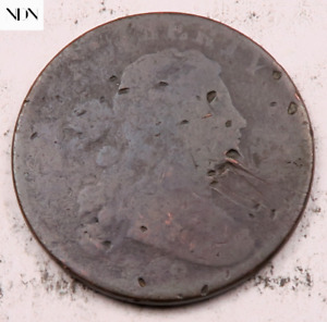 1798 DRAPED BUST LARGE CENT   115
