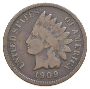 1909 S INDIAN HEAD CENT  9564