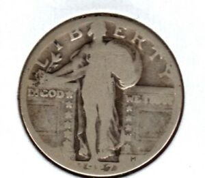 1927 D STANDING LIBERTY QUARTER AVE CIRC  BUY IT NOW C610