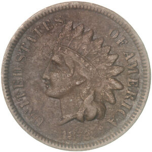 1872 INDIAN HEAD CENT FINE PENNY FN