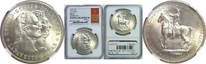 Click now to see the BUY IT NOW Price! 1900 LAFAYETTE DOLLAR SILVER COMMEMORATIVE NGC MS 65