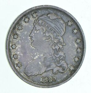 1835 CAPPED BUST QUARTER  6070