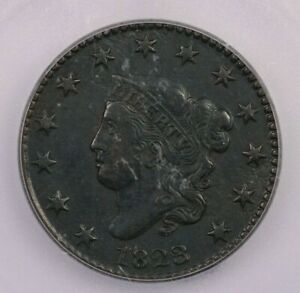 1823/2 P 1823/2 CORONET HEAD CENT 1C ICG VF35 DETAILS REALLY NICE LOOKING COIN