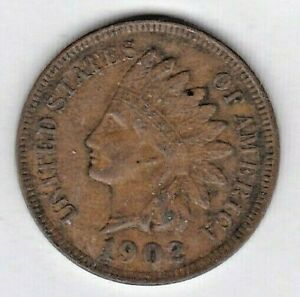1902 INDIAN HEAD CENT IN ABOUT UNCIRCULATED CONDITION : STK R50
