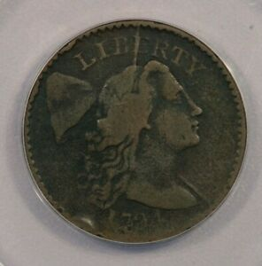 1794 P 1794 LIBERTY CAP LARGE CENT HEAD OF 1794 S 49 1C ANACS VG8