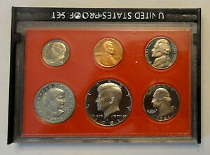 REDUCED  1985 S TO 1996 S U.S. PROOF SETS IN ORIGINAL US MINT BOX    $4.99 EACH