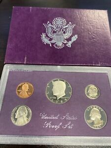 1985 S  U.S.PROOF SET. GENUINE. COMPLETE AND ORIGINAL AS ISSUED BY US MINT.