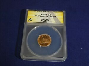2009 D MS 66 RED LINCOLN BICENTENNIAL CENT