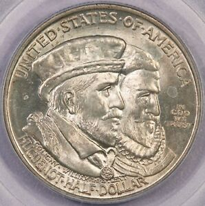 1924 P 1924 HUGUENOT CLASSIC COMMEMORATIVE PCGS MS64 CAC RADAR CERT NUMBER COOL