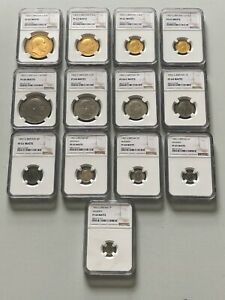 Click now to see the BUY IT NOW Price! 1902 EDWARD VII MATTE PROOF 13 COIN SPECIMEN SET FIVE POUND SOVEREIGN MAUNDY NGC