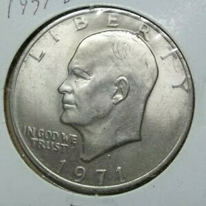 1971 D EISENHOWER DOLLAR  SKU35
