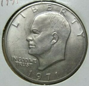 1971 D EISENHOWER DOLLAR  SKU36