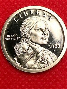 2002 S         SACAGAWEA   GEM FROM PROOF
