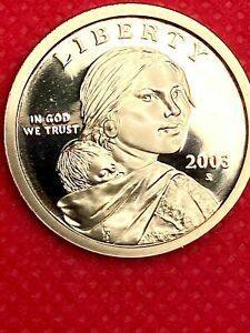 2003 S         SACAGAWEA   GEM FROM PROOF