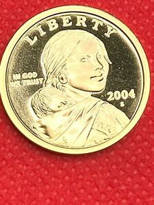 2004 S         SACAGAWEA   GEM FROM PROOF