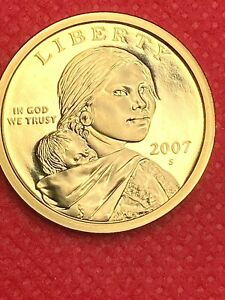 2007 S         SACAGAWEA   GEM FROM PROOF