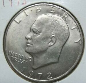 1972 EISENHOWER DOLLAR  SKU38
