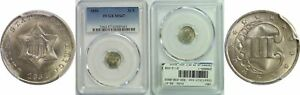 Click now to see the BUY IT NOW Price! 1851 SILVER THREE CENT PIECE PCGS MS 67