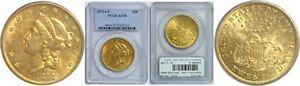 Click now to see the BUY IT NOW Price! 1872 CC $20 GOLD COIN PCGS AU 55