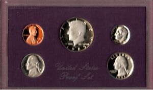 1985 S U.S. CLAD PROOF SET IN BOX GEM DEEP CAMEO COINS HERE FL5115